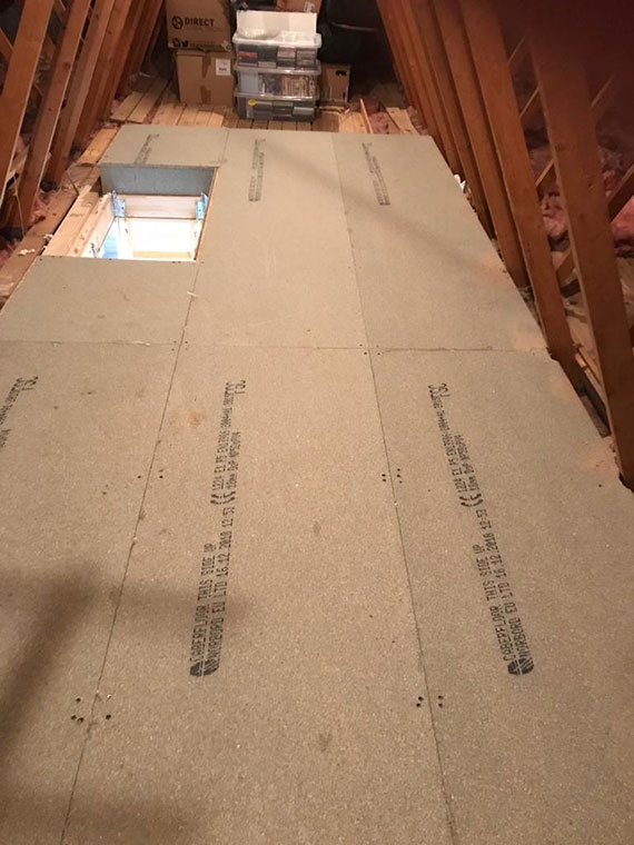 Loft flooring and access